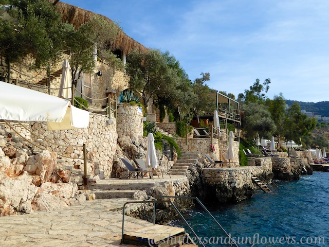Ocean front at Villa Mahal, Kalkan,Turkey