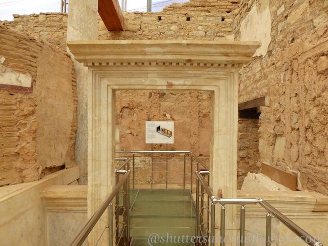 Door way in the Terrace Houses of Ephesus,Turkey