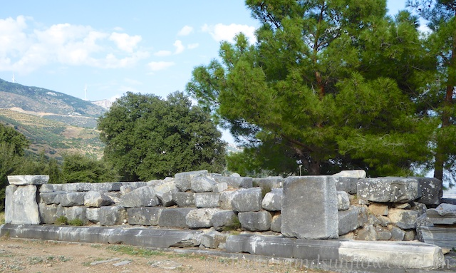 The Egyptian Santuary of the Gods at the Greek ruins of Priene, Turkey