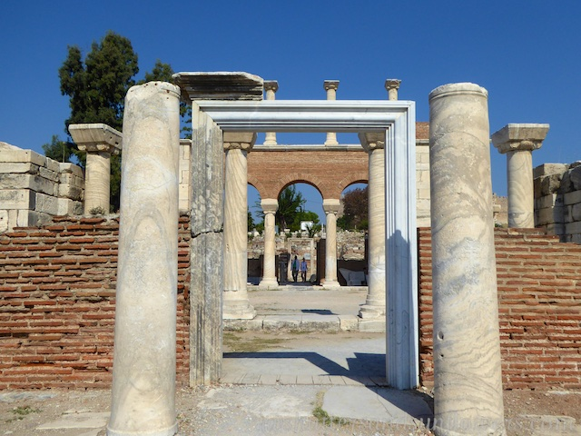 Ruins of the Basilica of St John, Seluck, near Ephesus,Turkey