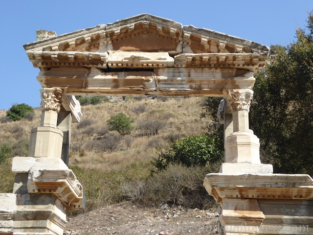 Nyphaerm Traiani, the fountain honouring Artemis and Emperor Trajan