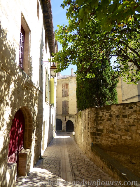 Cobbled streets of Uzes