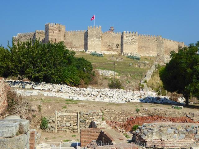 Citadel of Selcuk, by the Basilica of St John, near Ephesus,Turkey