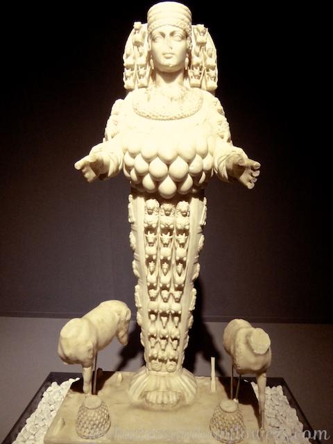 Statue of Artemis, in the Museum of Selcuk near Ephesus,Turkey