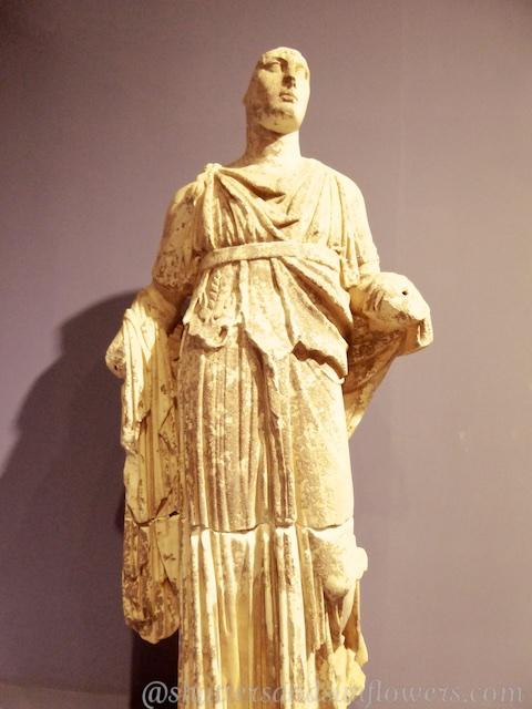 Statue of Dionysus, Goddess of wine, in the Museum of Selcuk near Ephesus,Turkey