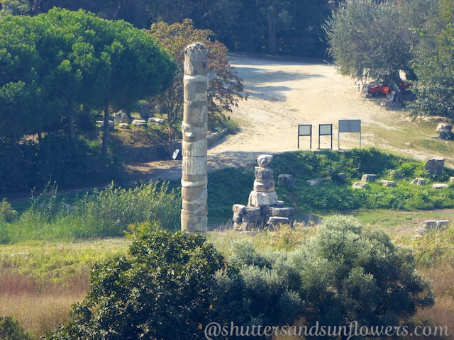 Temple of Artemis by the Basilica of St John, near Ephesus,Turkey