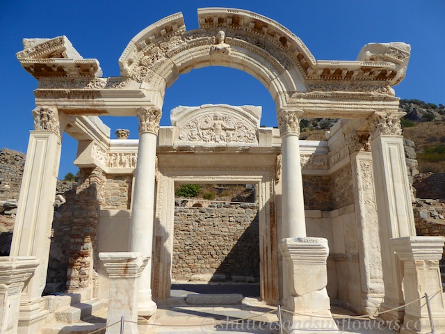 Hadrian's Temple, Ephesus, Turkey