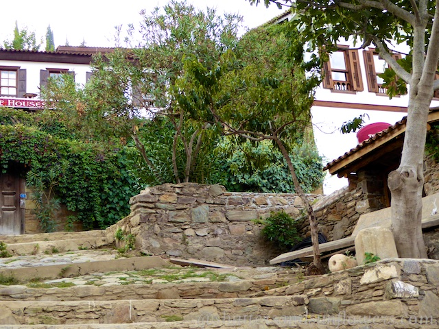 The Terrace Houses in Sirince,Turkey