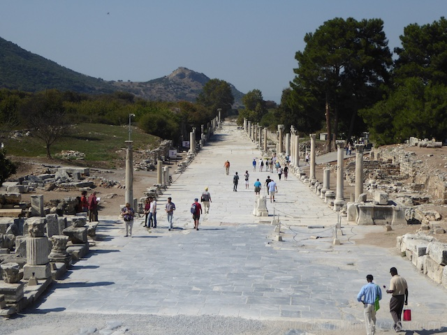 The Arcadiane of Ephesus, Turkey