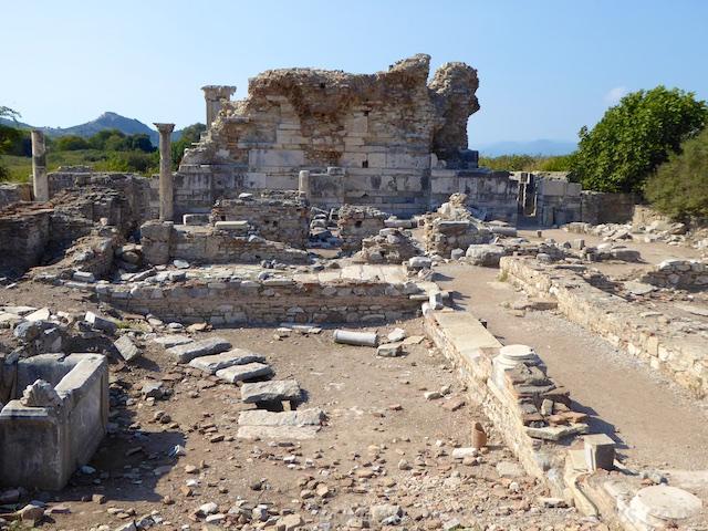 The Church of Mary, Ephesus, Turkey