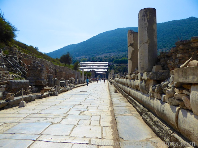 Marble Street of Ephesus, Turkey