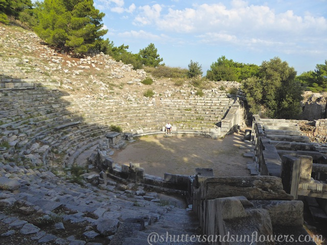 The Theatre at the Greek ruins of Priene
