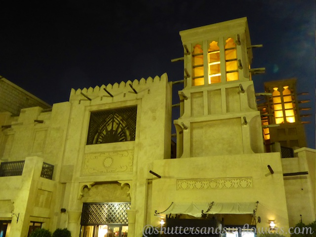 Buildings of the Souk Madinat, Jumeirah, Dubai