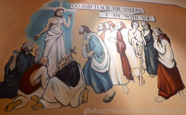 St Luke's Chapel Murals, Changi Gaol, Singapore
