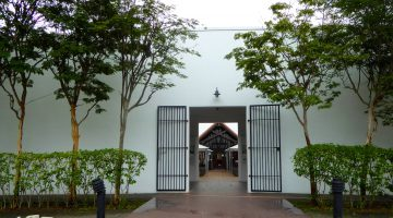 Entrance to Changi Museum and Chapel, Singapore