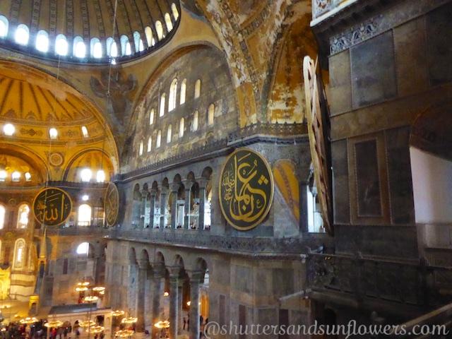 Prophet Discs Hagia Sophia, Istanbul, Turkey