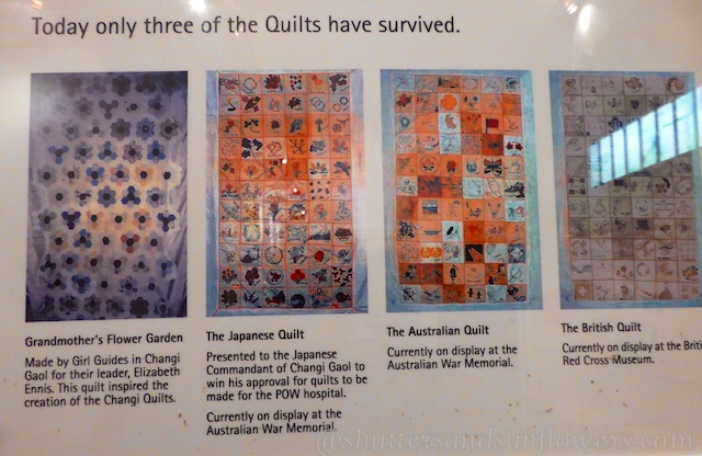 Changi Gaol, Singapore, The Quilts