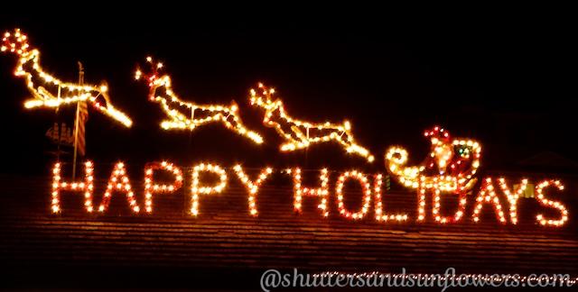 Christmas lights Carmel-by-the-sea, Californi