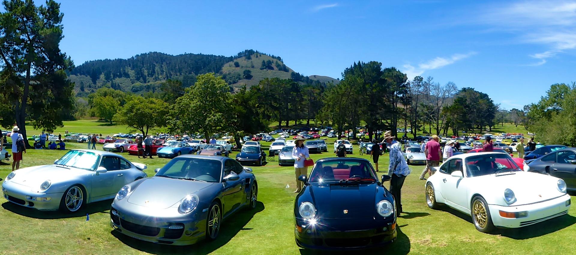 Monterey Historics Porsche 911's at Porsche Werks Reunion, Carmel-by-the-Sea, California, USA