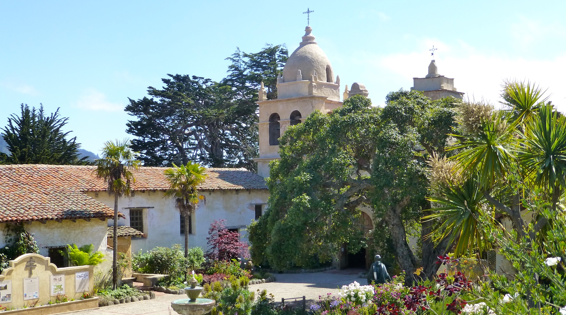 The Carmel Mission, Carmel, California, USA