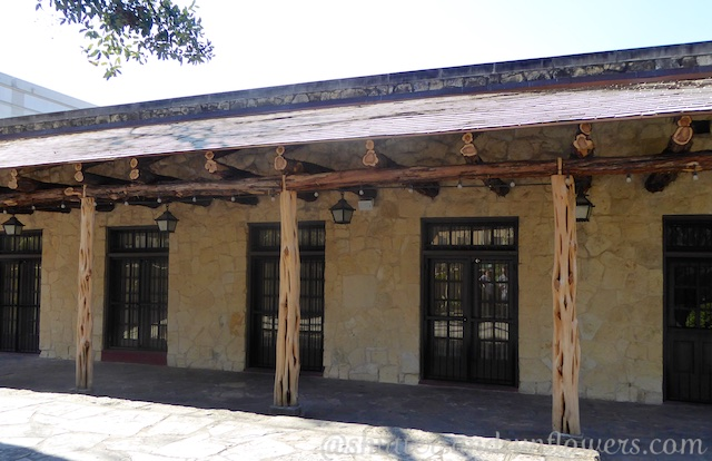 San Antonio de Valero, The barracks of the Alamo, San Antonio,Texas