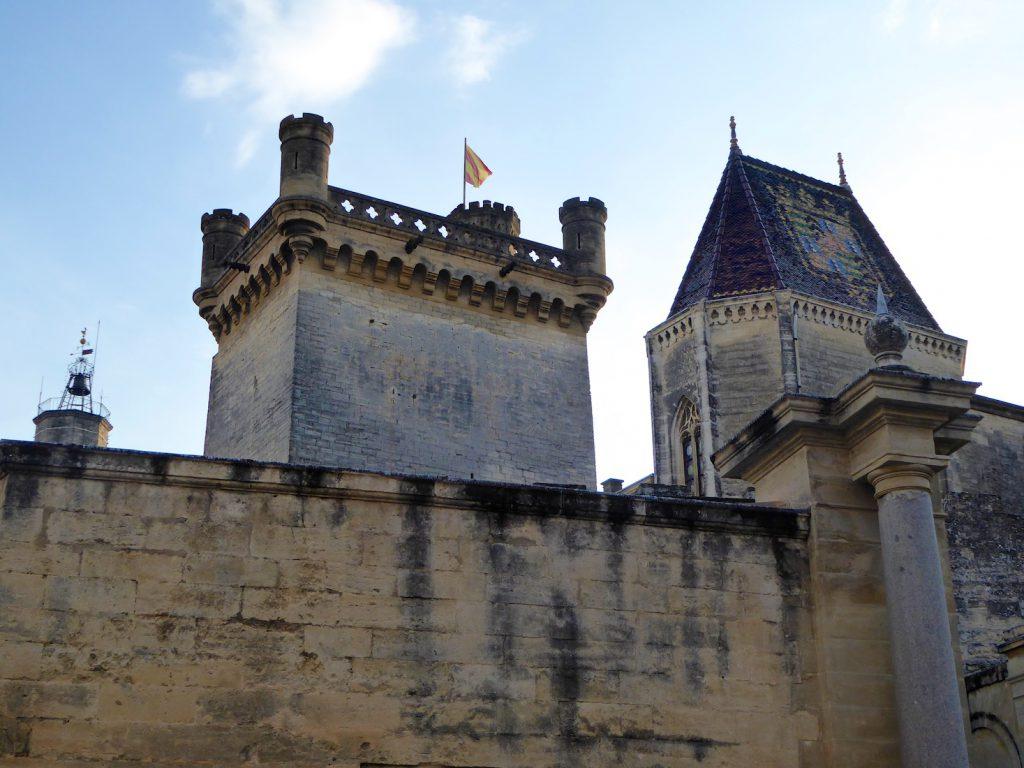 Chateau d'Uzes, Uzes, Languedoc Roussillon, France