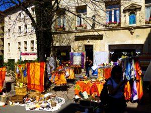 Avignon's Sunday Brocante market