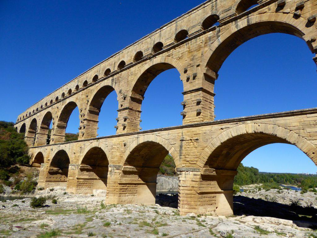 Pont du Gard, Near Uzes, Languedoc Roussillon, France