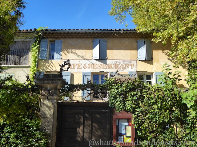 Petite Maison Restaurant in Cucuron, near Lourmarin, Luberon, Provence
