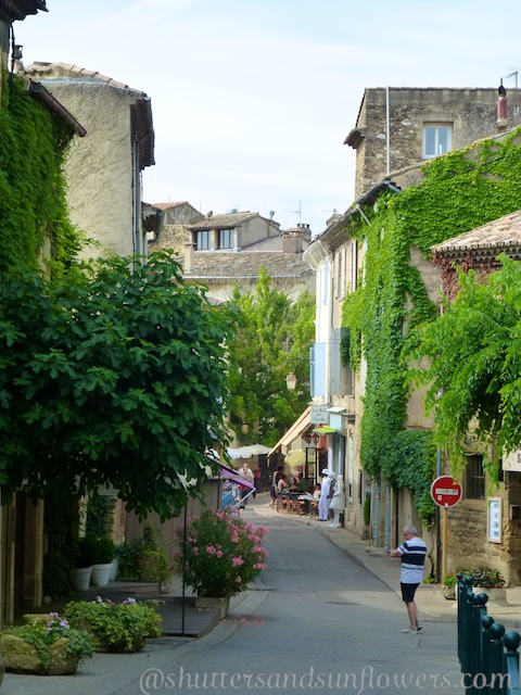 Picturesque streets of Lourmarin, Provence, part of Provence's appeal