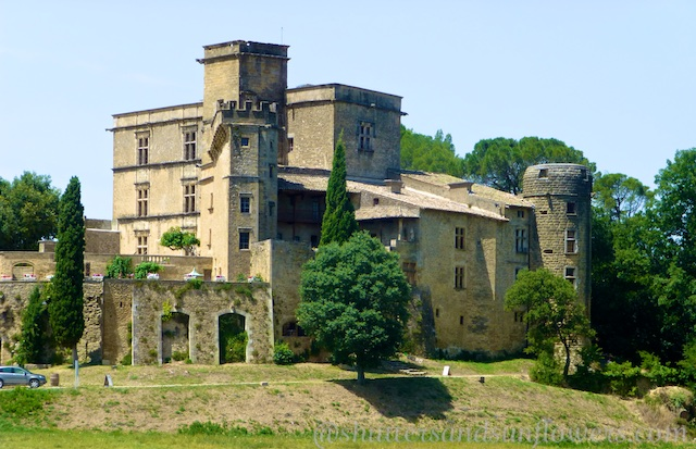 The Lourmarin Chateau, Luberon Valley, Vaucluse, Provence, France