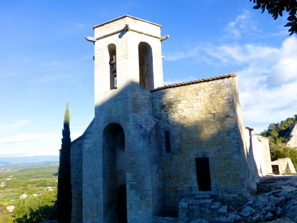 Church of Notre-Dame-d'Alydon, Oppède-le-Vieux, Luberon, Provence