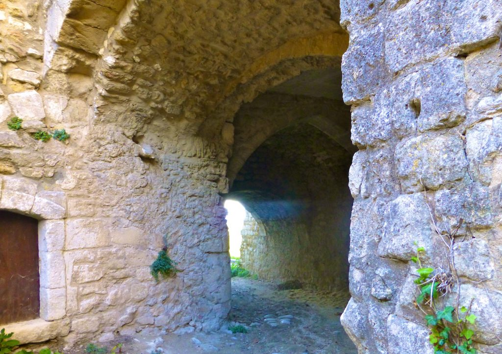Cobbles into Oppede le Vieux, Luberon, Provence