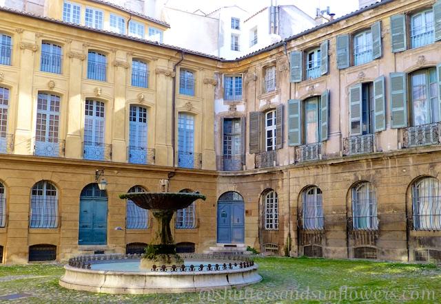 Aix-en-Provence architecture, the Var, Provence, France