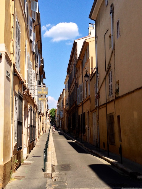 Aix-en-Provence Quartier Mazarin, the Var, Provence, France