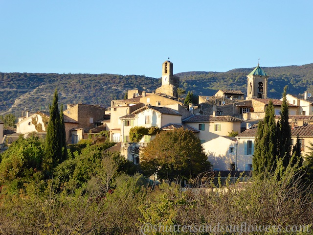 View of Lourmarin village, Luberon, Vaucluse, Provence, France