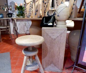Inside Mizso, a Lourmarin jewelry shop, Luberon, Vaulcuse, Provence, France