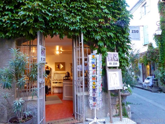 Mizso Jewelry Shop, Lourmarin, Luberon, Provence, France