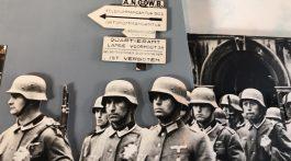 Nazis in Amsterdam, Netherlands during World War II