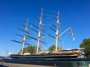 The Cutty Sark, Greenwich, London, England