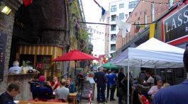The Maltby Street Market, Bermondsey, London, England