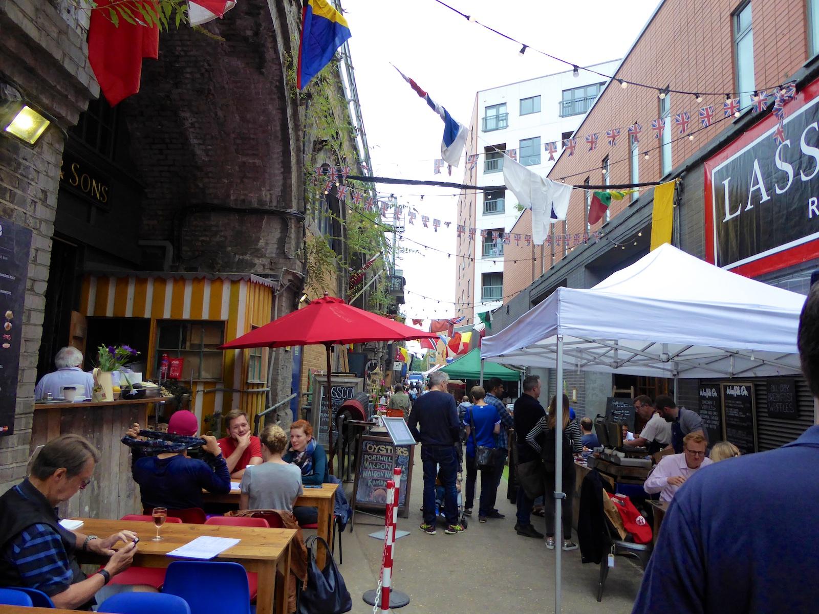London's Maltby Street Market, a foodie's heaven ...