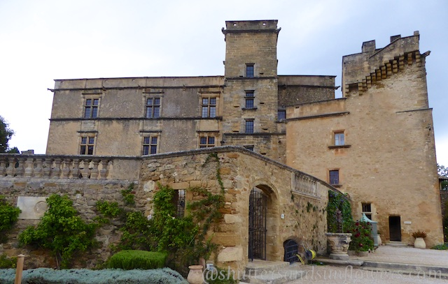 The Chateau in Lourmarin, Luberon, Vaucluse, Provence, France