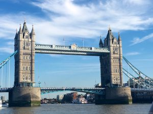 Tower Bridge, London from the River Thames
