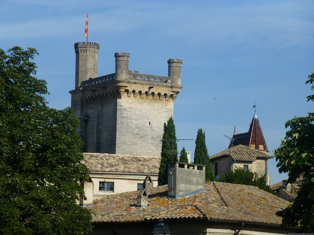 Travel Guide to Uzes, near Provence, Languedoc Roussillon, France