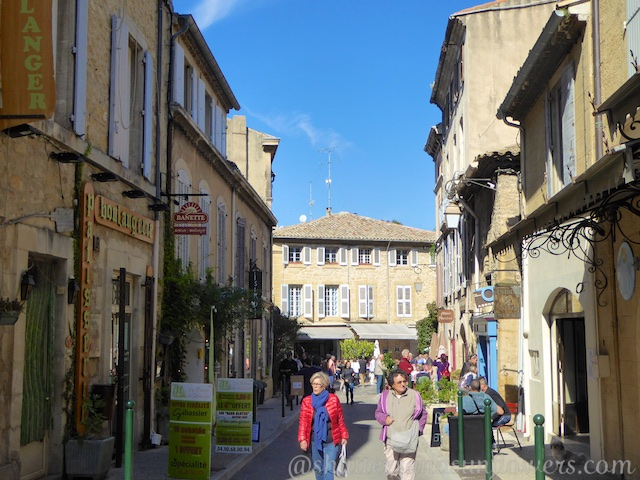 Lourmarin street, Luberon, Provence, France