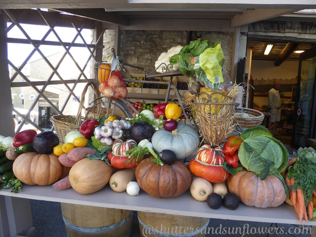 Autumn vegetables in Gordes