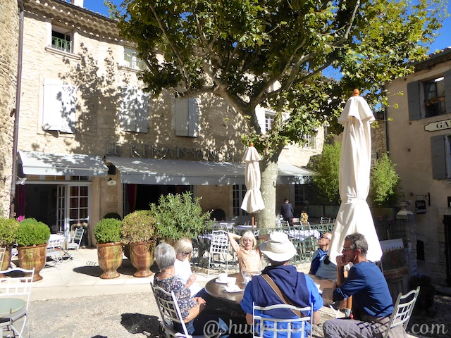 Hotel Renaissance in Gordes, The Luberon, Provence, France