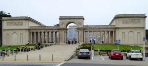 The Legion of Honor, fine arts museum of San Francisco