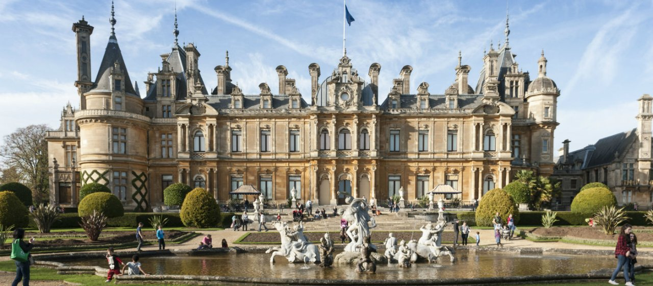 The Rothschild's Waddesdon Manor